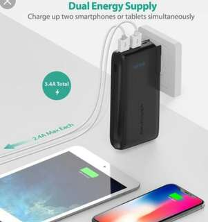 Ravpower RP-PB066 wall charger powerbank