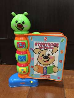 fisher price storybook rhymes musical toy