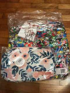 Jujube whimsical watercolours be quick & sushi car be light ( BELOW RETAIL)
