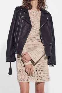 SIR THE LABEL MASON LEATHER JACKET RRP $650