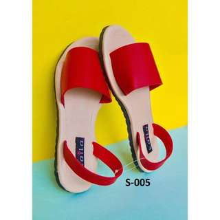Kaila Red Sandals* S-005