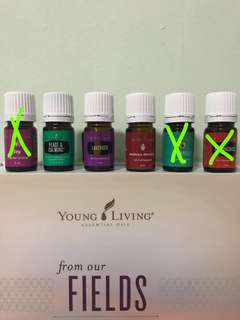 Young Living Essential Oils 5ml