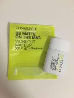 Foundation Declutter: CliniqueFit Workout Makeup SPF40