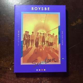 [WTS] SEVENTEEN Boys Be album seek ver.
