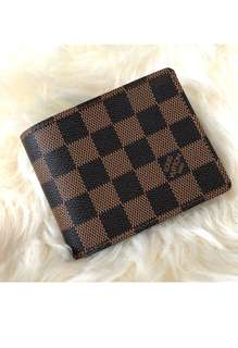 🆕🎉🛍SUMMER SALE!! Authentic LV DAMIER EBENE Men Wallet