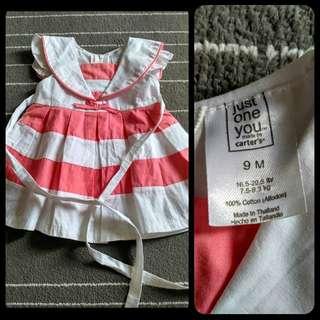 Dress bayi carters