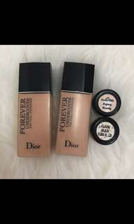 [SHARE IN JAR] Dior skin forever full coverage shade 20 & 10