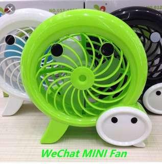 WeChat mini fan portable