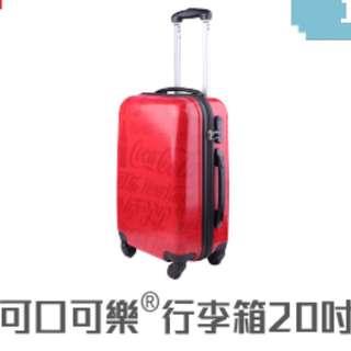 澳門限定可口可樂20吋行李箱