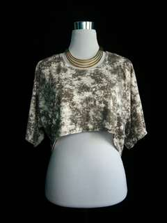 Glamour High-Low Crop Top