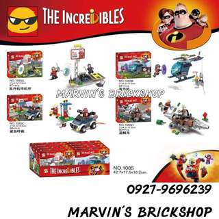 SY1085 The Incredibles 4in1 Building Blocks Toys