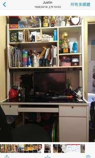 電腦檯書柜