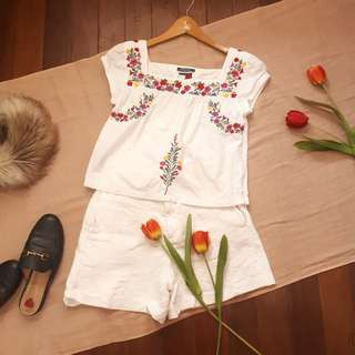 Tommy Hilfiger Embroidered Top