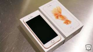 Iphone6s 64gb玫瑰金