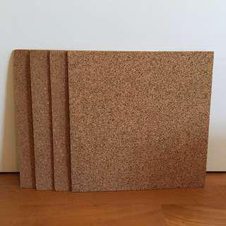 Cork Bulletin Boards (4 pack)