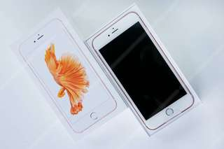 Iphone6s plus 64Gb 玫瑰金