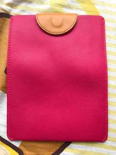 IPad mini cover bag 桃紅色套 sharp pink tablet