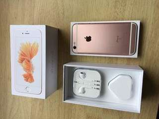 Iphone6s 128Gb 玫瑰金