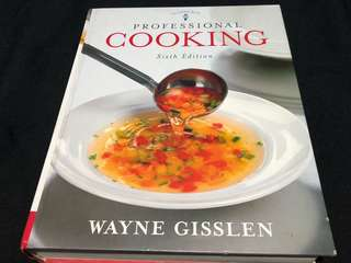 Wayne Gisslen Professional Cooking