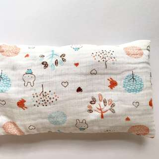 Muslin Bean Sprout Husk Pillow / Beanie Pillow , 100% Handmade, 100% Muslin Cotton, Available in 2 sizes while stock lasts ☺️