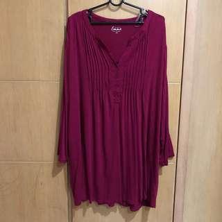 Plus size blouse 4XL