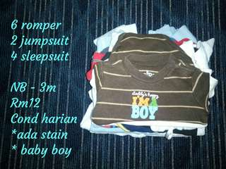 Baby bundle boy