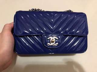 Chanel rectangular mini classic flap bag