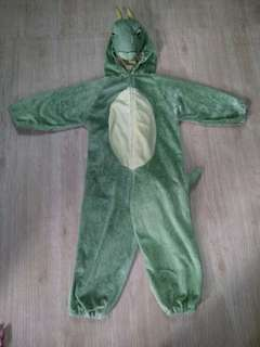 Dinasour costume 7-8 yrs old