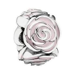 Genuine rose pandora charm