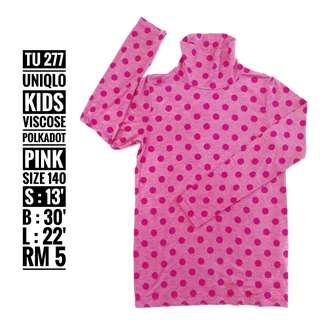 Uniqlo Turtle Neck Kids - TU 277