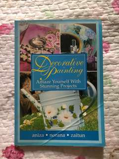 Arts, Craft, Painting Book (Buku menjahit / buku lukisan)