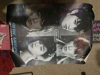 USED official cnblue blue moon poster