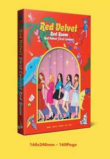 [PRE-ORDER] RED VELVET First Concert Red Room
