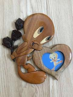 🚚 Tweety bird wooden photo frame
