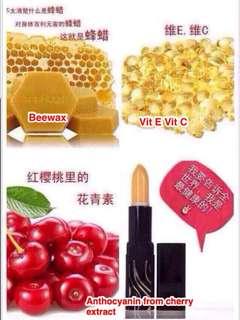 Healthy Cherry Lipstick/Lipbalm