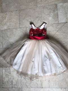 Long gown for girls 4-5 y/o