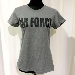 Air Force Military Gray Tank Top
