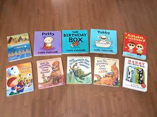 Assorted Children and Toddler Board Books