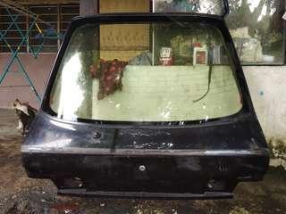 bonnet belakang wira aeroback special edition SE