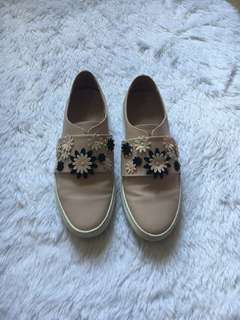 CHARLES AND KEITH Slip Ons