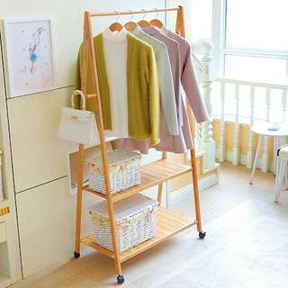 (PROMO) BN FREE DELIVERY Wooden Clothes Rack DIY
