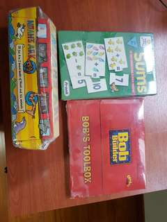 3 packs of kids' book and puzzle for gifting