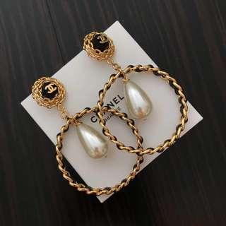 Chanel vintage earrings 耳環