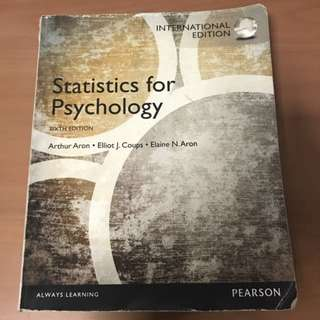 PL2131 Statistics For Psychology
