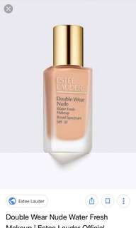 *AUTHENTIC* ESTÉE LAUDER DOUBLE WEAR NUDE 2ml/5ml Samplers