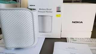Nokia 藍牙無綫血壓計,與手機同步,方便記錄分析。Wireless Blood Pressure Monitor, BPM,原裝行貨。99新。只用數次。單盒全齊。