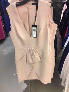 Original BCBG Nude dress with tag