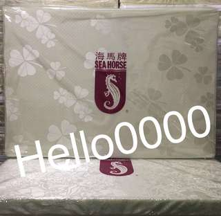 Free Delivery! BN Authentic Seahorse Foldable Mattress,sea horse foldable guest bed, kids, 3 fold