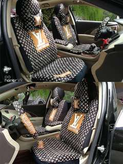 LV Car Seat & Accessories Covers