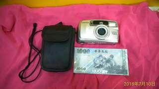 🚚 PENTAX  ESPIO 738S  傳統底片相機 / 傻瓜相機   功能正常  附皮套、吊繩 ~~